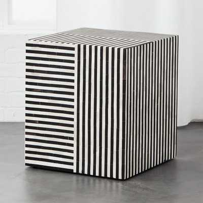 Taylor Bone Inlay Side Table - CB2