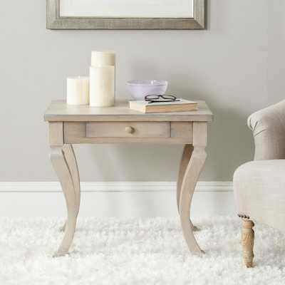 Clarksdale End Table with Storage - Wayfair