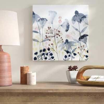 'Layered Gardens I' Painting on Canvas - Wayfair