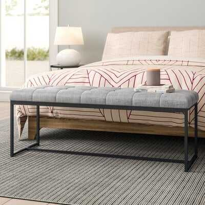 "Mardell 48"" Upholstered Bench - Wayfair"