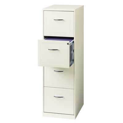 Cavitt 4 Drawer Vertical Filing Cabinet - Wayfair