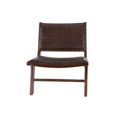Genuine Leather Lounge Chair - Wayfair