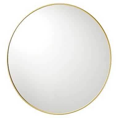 Metal Framed Mirrors- 38'' - Brass - Pottery Barn Teen