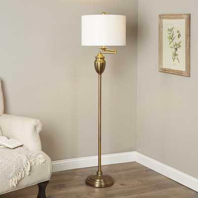 "Galindo 60"" Swing Arm Floor Lamp - Birch Lane"