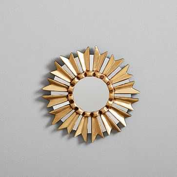 "Peruvian Wall Mirror, 8.5"" Starburst - West Elm"