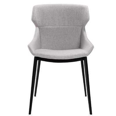 Ennis Modern Upholstered Dining Chair (set of 2) - Wayfair