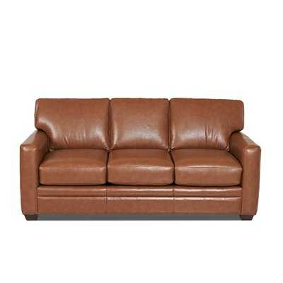 Carleton Leather Sofa - Birch Lane