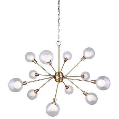 Zelie 12-Light Sputnik Chandelier - Wayfair