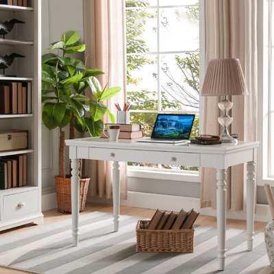 Craner Turned Leg Computer Desk - Wayfair