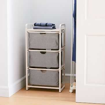 Bamboo Shelves w/ Drawers - West Elm
