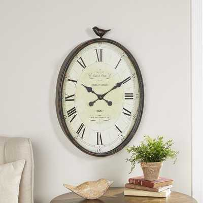 Rudden Wall Clock - Wayfair