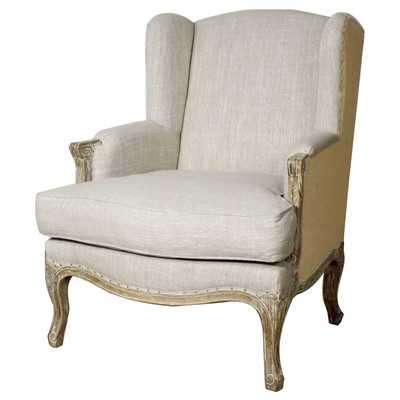 Rotan Wingback Chair - Birch Lane