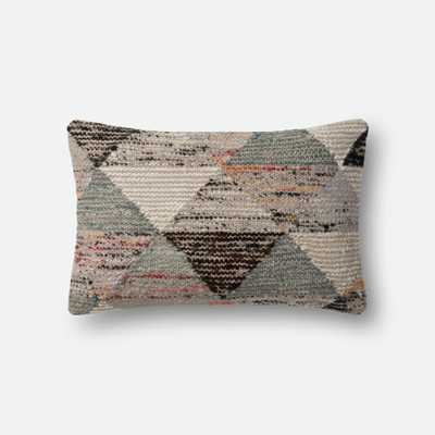 PILLOWS - GREY / MULTI - Magnolia Home by Joana Gaines Crafted by Loloi Rugs