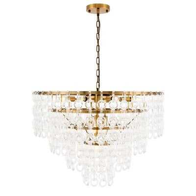 Kason 12-Light Crystal Chandelier - Wayfair