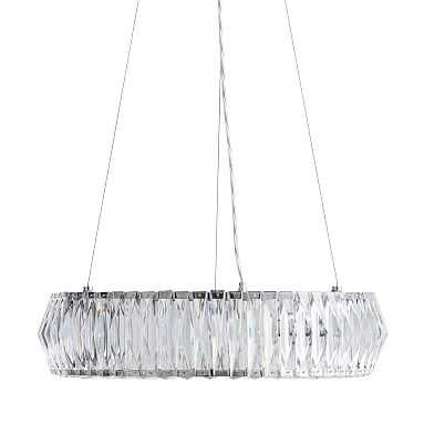 Round Crystal Chandelier - Pottery Barn Teen