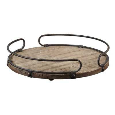 Adalwin Round Serving Tray - Birch Lane