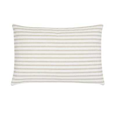 Jarrell Stripe Cotton Lumbar Pillow- Polyfill - Wayfair
