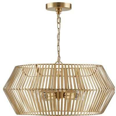 Borg 4-Light Drum Chandelier - Wayfair