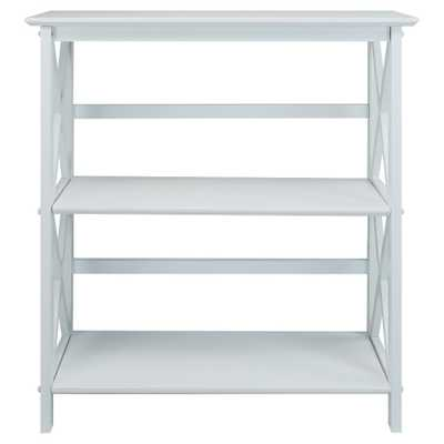 34 3-Shelf Bookcase White - Flora Home - Target