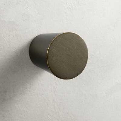 Taper Bronze Knob - CB2