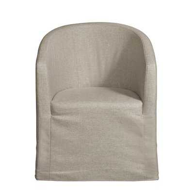 Cario Barrel Upholstered Dining Chair - Wayfair