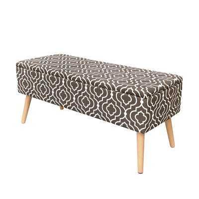 Valdivia Mid Century Upholstered Storage Bench - AllModern
