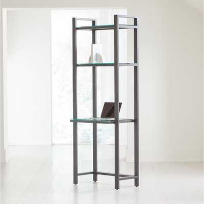 Pilsen Graphite Modular Desk - Crate and Barrel