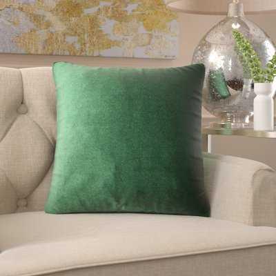 Velvet Throw Pillow - Wayfair