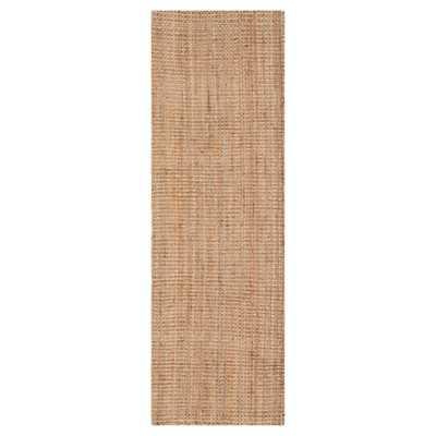 Natural Solid Woven Runner 2'3x9' - Safavieh - Target