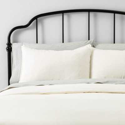 King Duvet Cover Set Linen Sour Cream - Hearth & Hand with Magnolia - Target