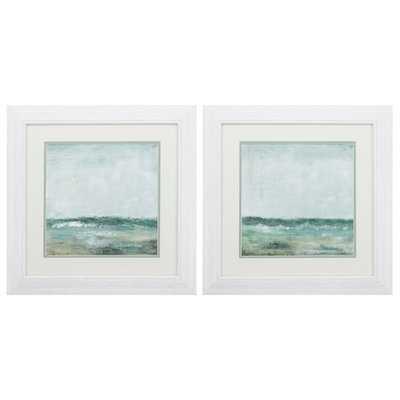 'Cape Cod' 2 Piece Framed Acrylic Painting Print - Wayfair