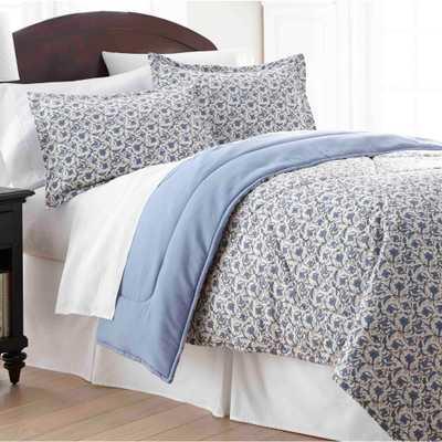 Jacobean Full Queen 4-Piece Comforter Set - Home Depot