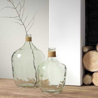 Belton Recycled Glass Table Vase - Wayfair