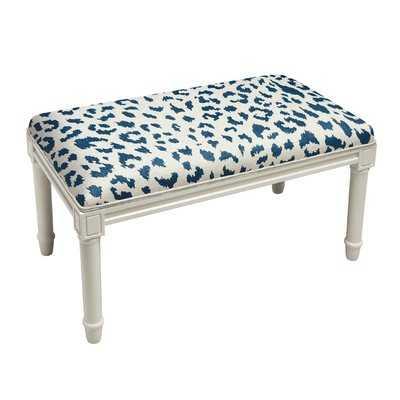 Augustine Cheetah Wood Bench - Wayfair