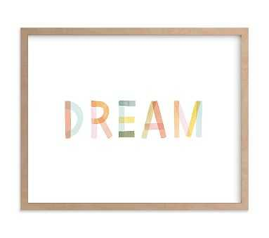 Dreaming in Color Wall Art by Minted(R), 14x11, Natural - Pottery Barn Kids