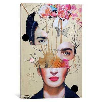 'Frida for Beginners' Graphic Art Print on Canvas - Wayfair