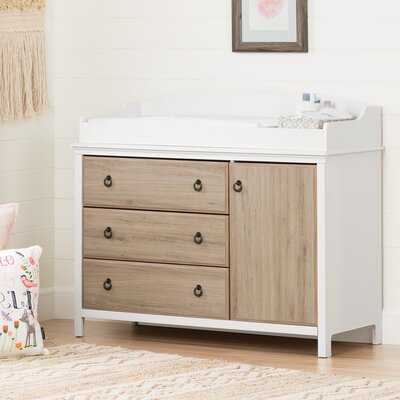 Cotton Candy Changing Table With Station - Wayfair