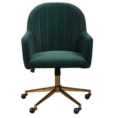 Flanigan Channel Tufted Task Chair - Wayfair