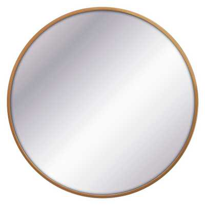 32 Round Decorative Wall Mirror Brass - Project 62 - Target