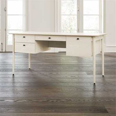 Kendall Cream Desk - Crate and Barrel
