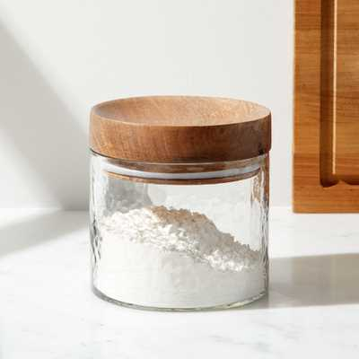 Cooper Small Glass Canister - Crate and Barrel