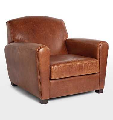 Doyle Leather Club Chair - Rejuvenation