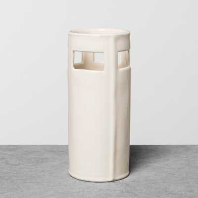 Vase Stoneware Small White - Hearth & Hand with Magnolia - Target