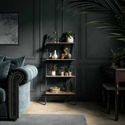 Cliffo Rustic Ladder Bookcase - Wayfair