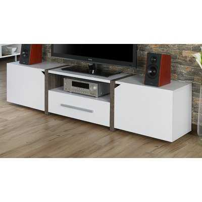 "Quaniece 82"" TV Stand - Wayfair"