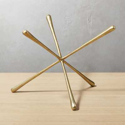 Adra Large Brass Decorative Object - CB2