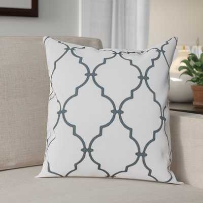 Reuter Trellis Throw Pillow - Birch Lane