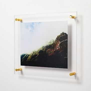 "Modern Acrylic Frame 8"" x 10"" Opening - West Elm"