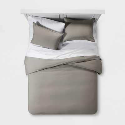 Gray Washed Linen Blend Duvet Cover Set (Full/Queen) - Project 62 + Nate Berkus - Target