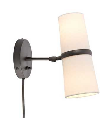 Conifer Short Plug-In Wall Sconce - Rejuvenation